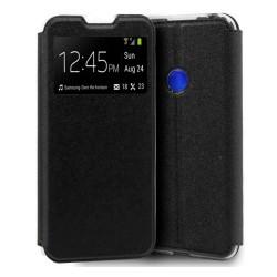 Funda Libro Soporte con Ventana para Xiaomi Redmi Note 8 color Negra