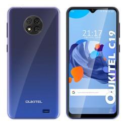 Funda Silicona Gel TPU Transparente para Oukitel C19