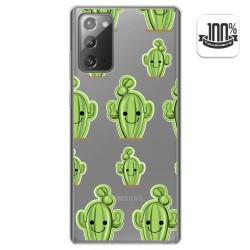 Funda Gel Transparente para Samsung Galaxy Note 20 diseño Cactus Dibujos