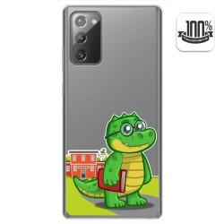 Funda Gel Transparente para Samsung Galaxy Note 20 diseño Coco Dibujos