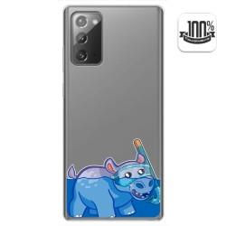 Funda Gel Transparente para Samsung Galaxy Note 20 diseño Hipo Dibujos