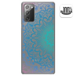 Funda Gel Transparente para Samsung Galaxy Note 20 diseño Mandala Dibujos
