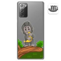 Funda Gel Transparente para Samsung Galaxy Note 20 diseño Mono Dibujos