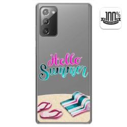 Funda Gel Transparente para Samsung Galaxy Note 20 diseño Summer Dibujos