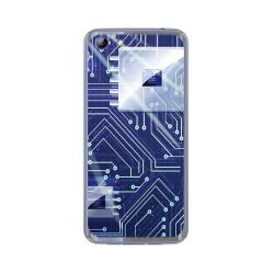 Funda Gel Tpu para Elephone S7 Diseño Circuito Dibujos