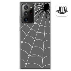 Funda Gel Transparente para Samsung Galaxy Note 20 Ultra diseño Araña Dibujos