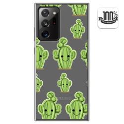 Funda Gel Transparente para Samsung Galaxy Note 20 Ultra diseño Cactus Dibujos