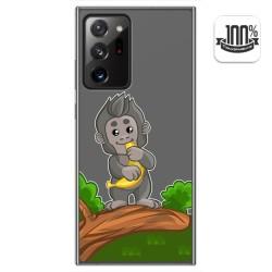 Funda Gel Transparente para Samsung Galaxy Note 20 Ultra diseño Mono Dibujos