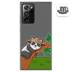 Funda Gel Transparente para Samsung Galaxy Note 20 Ultra diseño Panda Dibujos