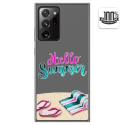 Funda Gel Transparente para Samsung Galaxy Note 20 Ultra diseño Summer Dibujos