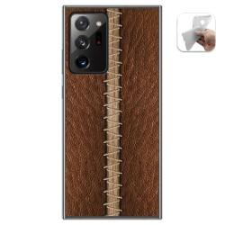 Funda Gel Tpu para Samsung Galaxy Note 20 Ultra diseño Cuero 01 Dibujos