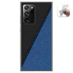 Funda Gel Tpu para Samsung Galaxy Note 20 Ultra diseño Cuero 02 Dibujos