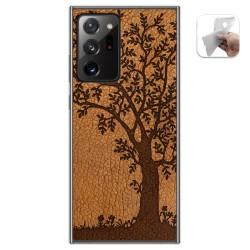 Funda Gel Tpu para Samsung Galaxy Note 20 Ultra diseño Cuero 03 Dibujos