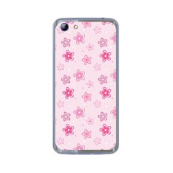 Funda Gel Tpu para Elephone S7 Diseño Flores Dibujos