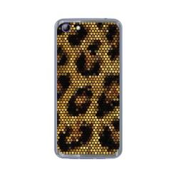 Funda Gel Tpu para Elephone S7 Diseño Leopardo Dibujos