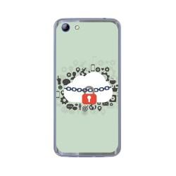 Funda Gel Tpu para Elephone S7 Diseño Nube Dibujos