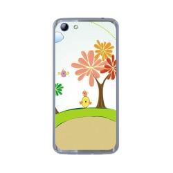 Funda Gel Tpu para Elephone S7 Diseño Primavera Dibujos