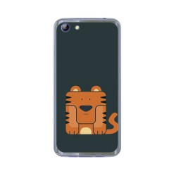 Funda Gel Tpu para Elephone S7 Diseño Tigre Dibujos