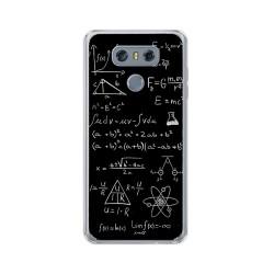 Funda Gel Tpu para Lg G6 Diseño Formulas Dibujos