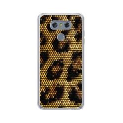 Funda Gel Tpu para Lg G6 Diseño Leopardo Dibujos