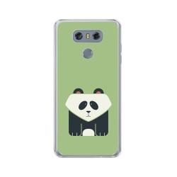Funda Gel Tpu para Lg G6 Diseño Panda Dibujos