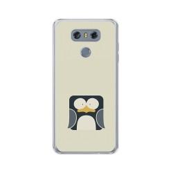 Funda Gel Tpu para Lg G6 Diseño Pingüino Dibujos