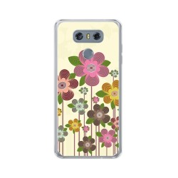 Funda Gel Tpu para Lg G6 Diseño Primavera En Flor  Dibujos