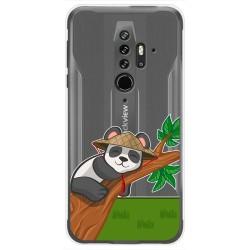 Funda Gel Transparente para Blackview BV6300 Pro diseño Panda Dibujos
