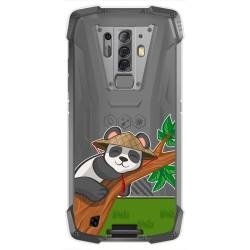 Funda Gel Transparente para Blackview BV6900 / BV6900 Pro diseño Panda Dibujos