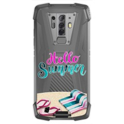 Funda Gel Transparente para Blackview BV6900 / BV6900 Pro diseño Summer Dibujos