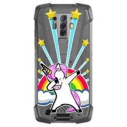 Funda Gel Transparente para Blackview BV6900 / BV6900 Pro diseño Unicornio Dibujos