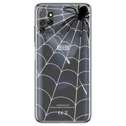 Funda Gel Transparente para Elephone E10 / E10 Pro diseño Araña Dibujos