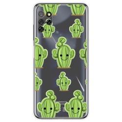 Funda Gel Transparente para Elephone E10 / E10 Pro diseño Cactus Dibujos