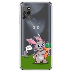 Funda Gel Transparente para Elephone E10 / E10 Pro diseño Conejo Dibujos