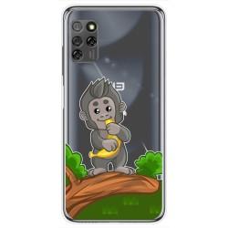 Funda Gel Transparente para Elephone E10 / E10 Pro diseño Mono Dibujos