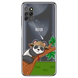 Funda Gel Transparente para Elephone E10 / E10 Pro diseño Panda Dibujos