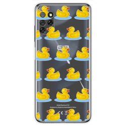 Funda Gel Transparente para Elephone E10 / E10 Pro diseño Pato Dibujos