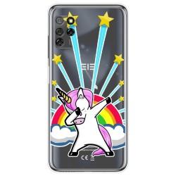 Funda Gel Transparente para Elephone E10 / E10 Pro diseño Unicornio Dibujos