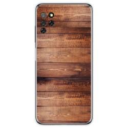 Funda Gel Tpu para Elephone E10 / E10 Pro diseño Madera 02 Dibujos