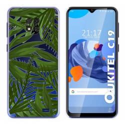 Funda Gel Transparente para Oukitel C19 diseño Jungla Dibujos