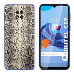 Funda Gel Tpu para Oukitel C19 diseño Animal 01 Dibujos
