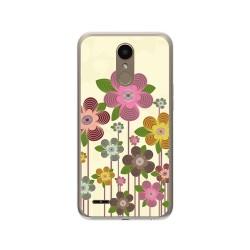 Funda Gel Tpu para Lg K10 2017 Diseño Primavera En Flor  Dibujos