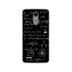 Funda Gel Tpu para Lg K4 2017 / K8 2017 Diseño Formulas Dibujos