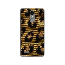 Funda Gel Tpu para Lg K4 2017 / K8 2017 Diseño Leopardo Dibujos