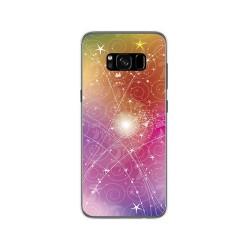 Funda Gel Tpu para Samsung Galaxy S8 Diseño Abstracto Dibujos