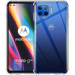 Funda Gel Tpu Anti-Shock Transparente para Motorola Moto G 5G Plus