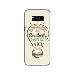 Funda Gel Tpu para Samsung Galaxy S8 Diseño Creativity Dibujos