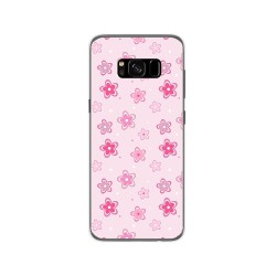 Funda Gel Tpu para Samsung Galaxy S8 Diseño Flores Dibujos