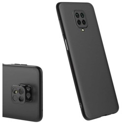 Funda Carcasa GKK 360 para Xiaomi Redmi Note 9S / Note 9 Pro color Negra
