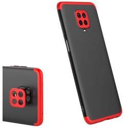 Funda Carcasa GKK 360 para Xiaomi Redmi Note 9S / Note 9 Pro color Negra / Roja